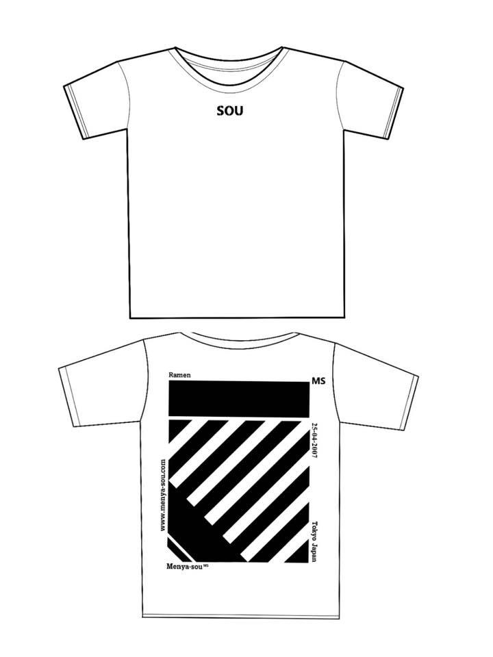 SOU Tシャツ白
